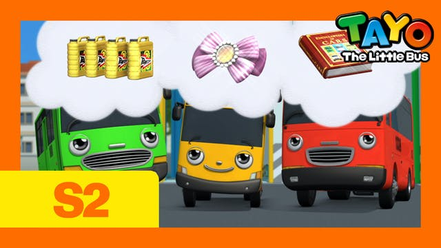 Tayo the Little Bus S2 EP9 - The Trea...