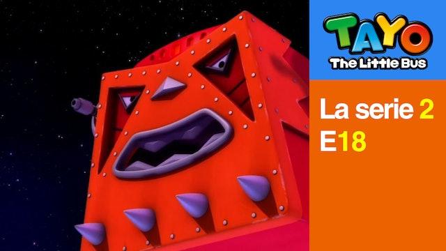 Tayo El Pequeño Bus la Serie 2 EP18 - La aventura espacial de Tayo - Parte 2