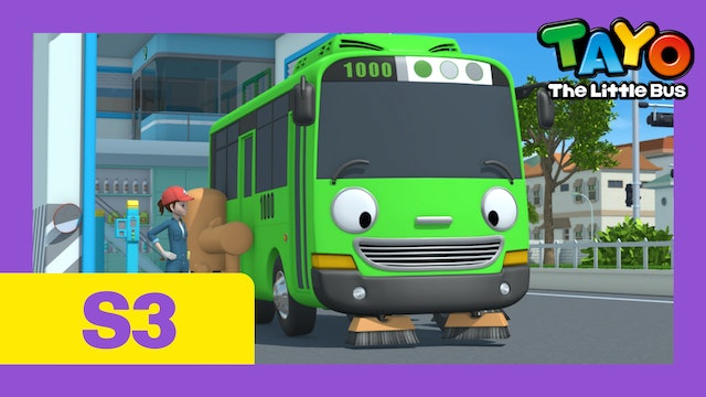 Tayo the Little Bus S3 EP3 -  Rogi the Sweeper