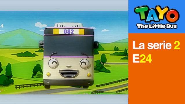 Tayo El Pequeño Bus la Serie 2 EP24 - La invitación de Nana