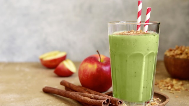 Apple & Grains Smoothie