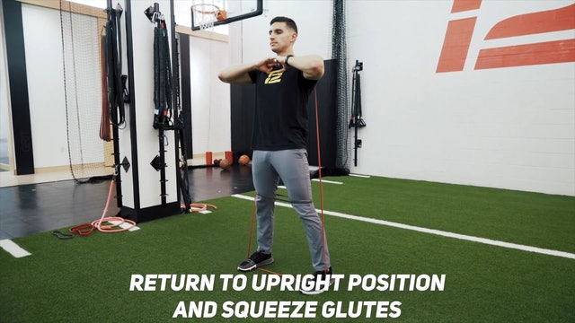 Volleyball: Band Resisted Squat | Speed of Sport