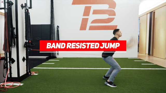 Volleyball: Band Resisted Jump | Speed of Sport