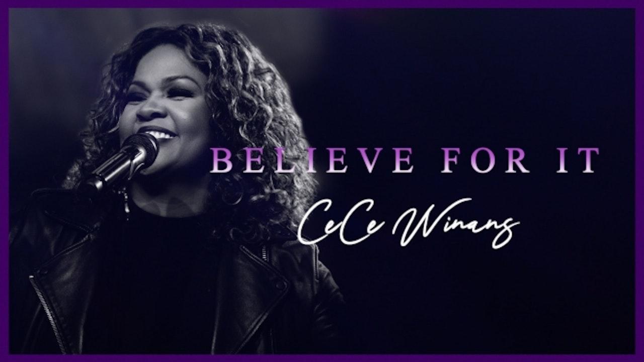 CeCe Winans Concert: Believe For It
