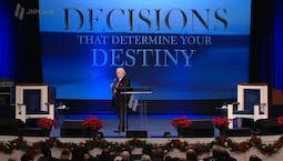 Video Image Thumbnail:Decisions that Determine Your Destiny: The Decision to Be Joyful