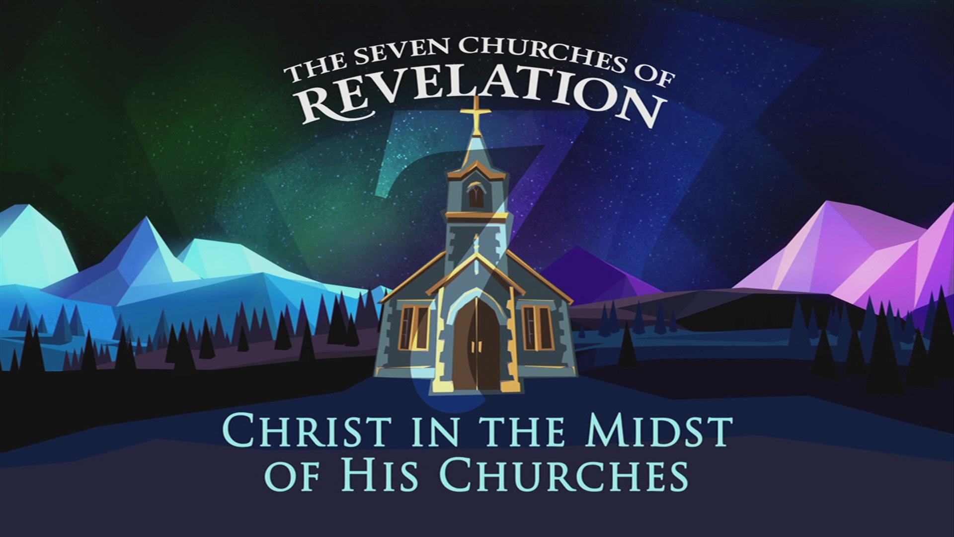 Christ In The Midst Of His Churches