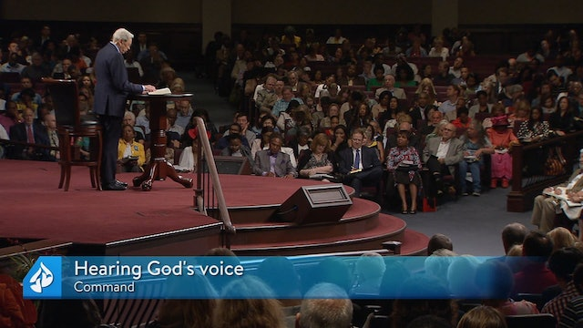 Lessons From the Life of Moses Part 3: Hearing God's Voice