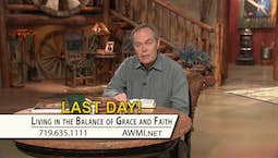 Video Image Thumbnail:Living in the Balance of Grace & Faith | March 29, 2019