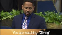 Video Image Thumbnail:Giving