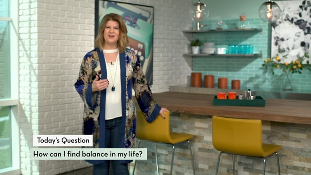How Can I Find Balance in My Life?