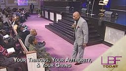 Your Thinking, Your Authority and Your Giving