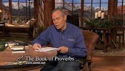 Video Image Thumbnail:The Book of Proverbs | Monday