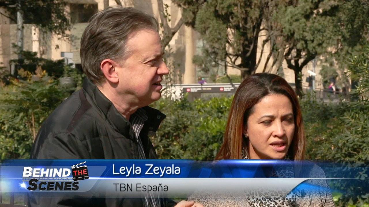 Watch Matt & Laurie Crouch hosts Pablo Vazquez and Leyla Zeyala from Barcelona, Spain
