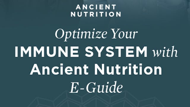 Jordan Rubin: Optimize Your Immune Health