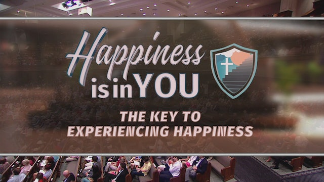 The Key To Experiencing Happiness