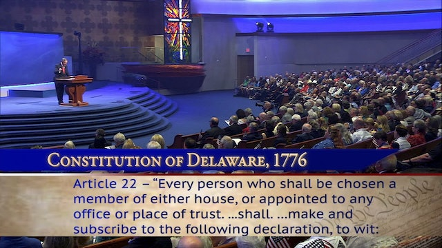 Special Presentation: America Is a Christian Nation