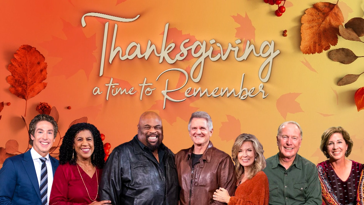 Watch Thanksgiving: A Time to Remember