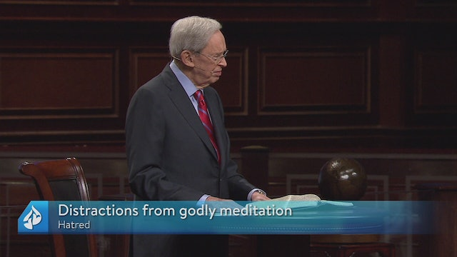 Distracted From Godly Meditation