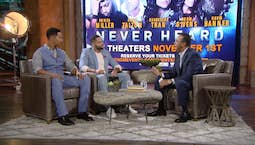 Clifton Davis hosts Brian White and Dijon Talton from Los Angeles, CA