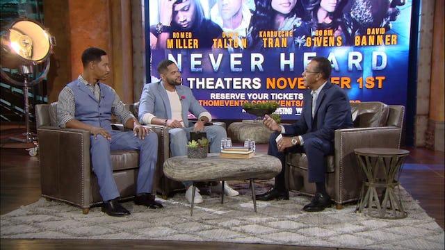 Clifton Davis hosts Brian White and Dijon Talton from Los Angeles, CA