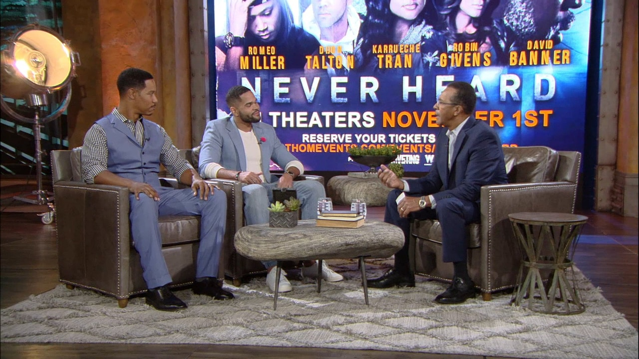 Watch Clifton Davis hosts Brian White and Dijon Talton from Los Angeles, CA