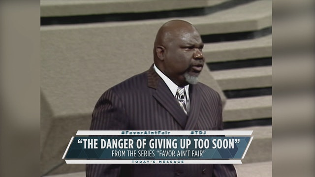 The Danger of Giving Up too Soon