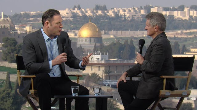 Matt Crouch hosts Erick Stakelbeck from Jerusalem, Israel