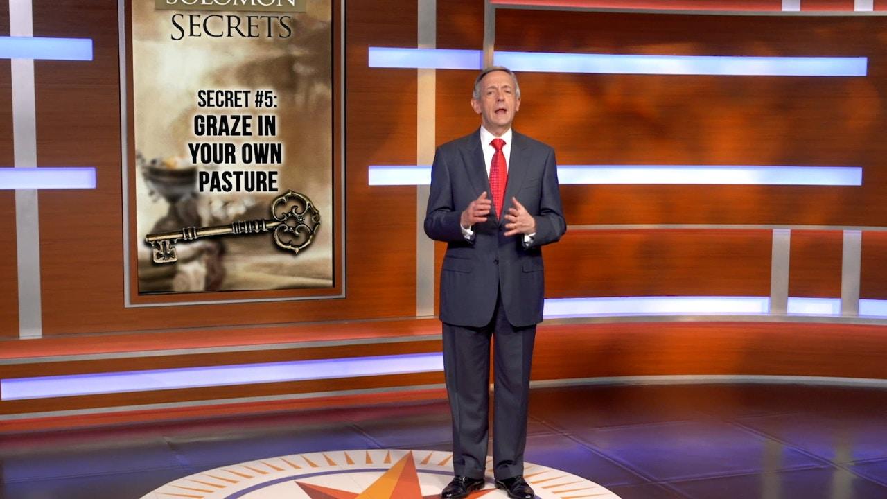 Watch The Solomon Secrets: Graze In Your Own Pasture