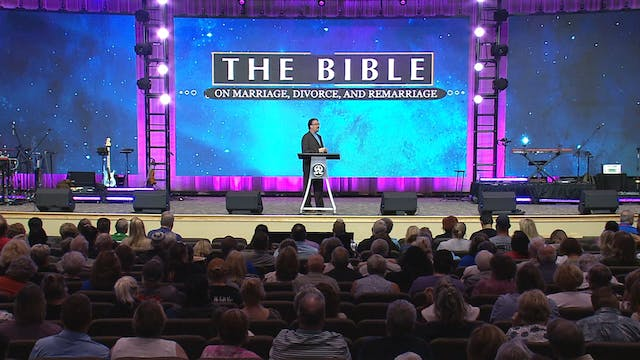 The Bible on Marriage, Divorce, and R...
