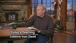 Video Image Thumbnail:Lessons from David | Wednesday