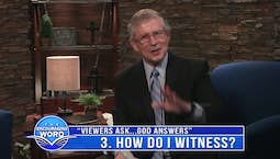 Video Image Thumbnail:Viewers Ask...God Answers