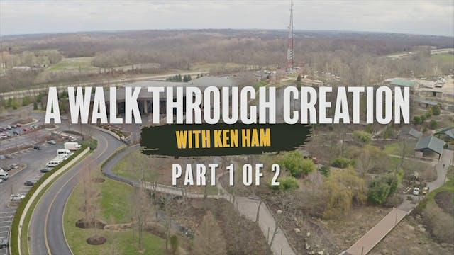 A Walk Through Creation Part 1