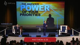 Video Image Thumbnail:The Awesome Power of Your Priorities