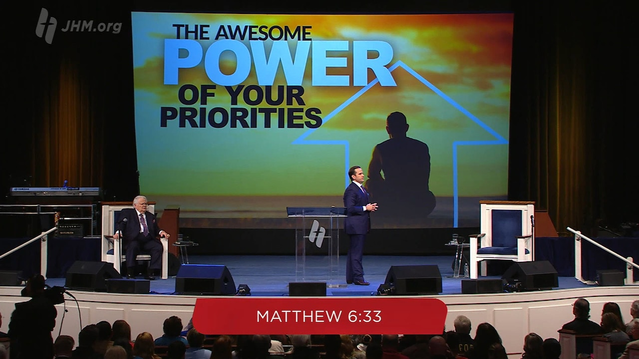 Watch The Awesome Power of Your Priorities