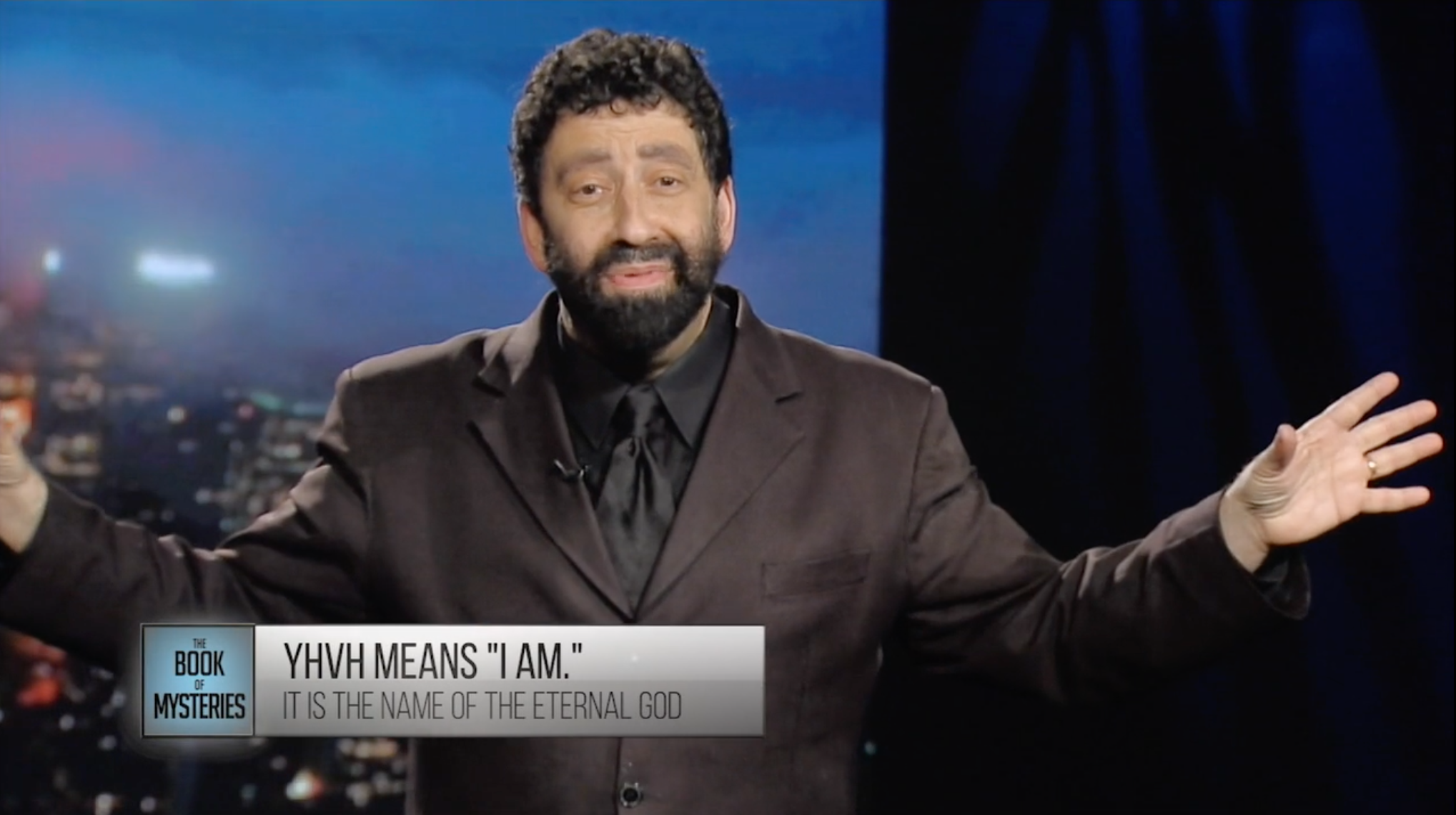 Jonathan Cahn:  The Book of Mysteries   Episode 1