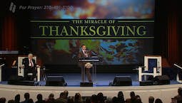 Video Image Thumbnail:The Miracle of Thanksgiving