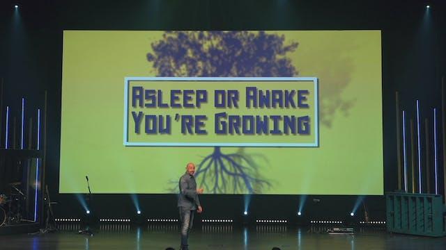 Asleep or Awake You're Growing