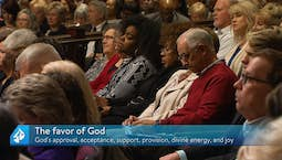Video Image Thumbnail:Walking in the Favor of God Part 1