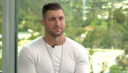 Video Image Thumbnail:Jamie Alexander hosts Tim Tebow