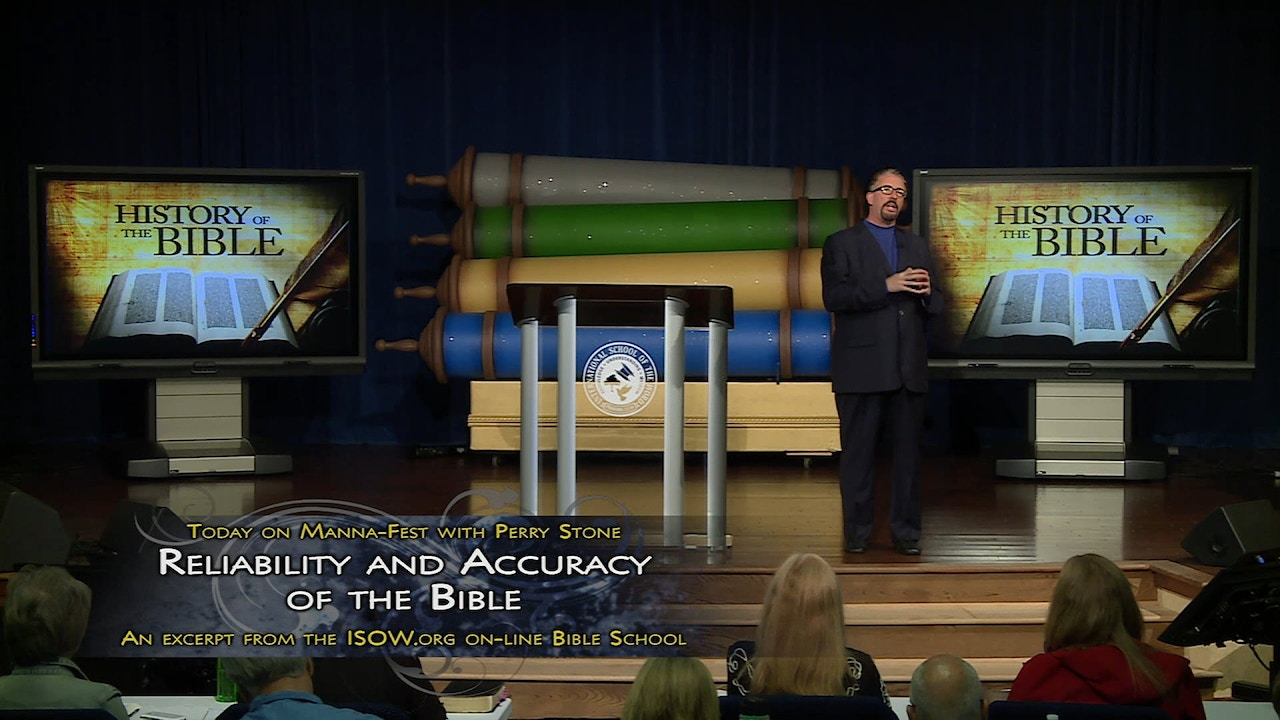 Watch History of the Bible: Reliability and Accuracy of the Bible