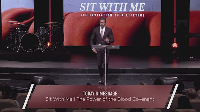 Sit With Me: The Power of the Blood C...