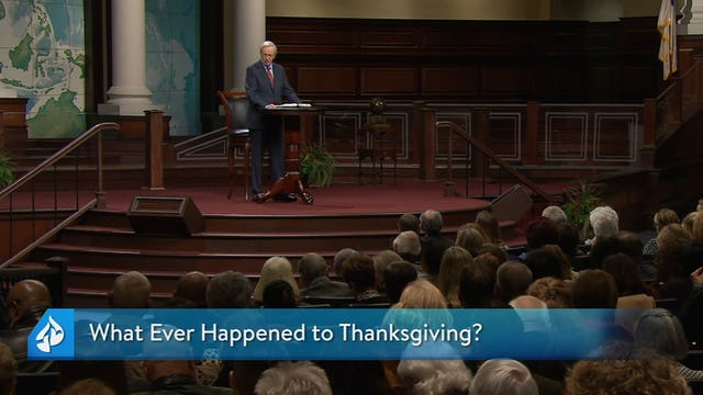 What Ever Happened to Thanksgiving? and Victory Over Anger