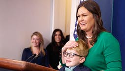 Video Image Thumbnail:Conversations | Sarah Huckabee Sanders