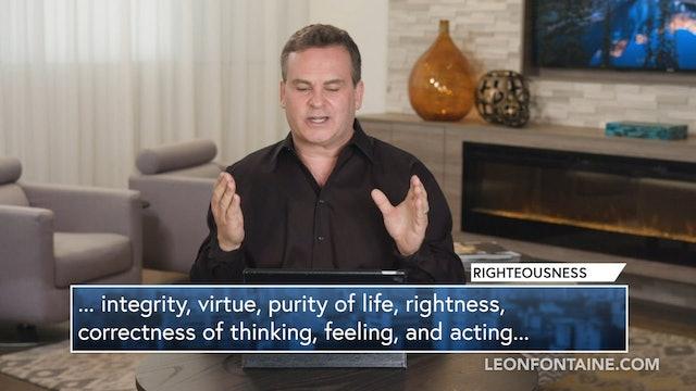Faith Righteousness