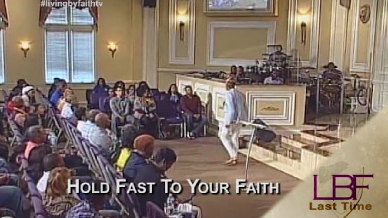 Watch Hold Fast to Your Faith