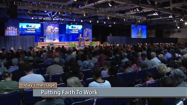 Putting Faith To Work