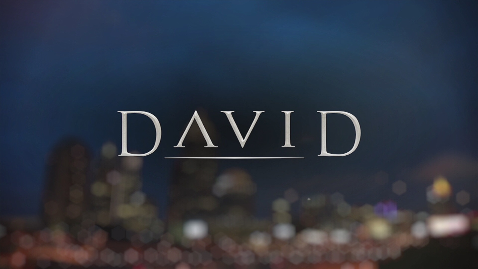 David - The Reluctant Hero