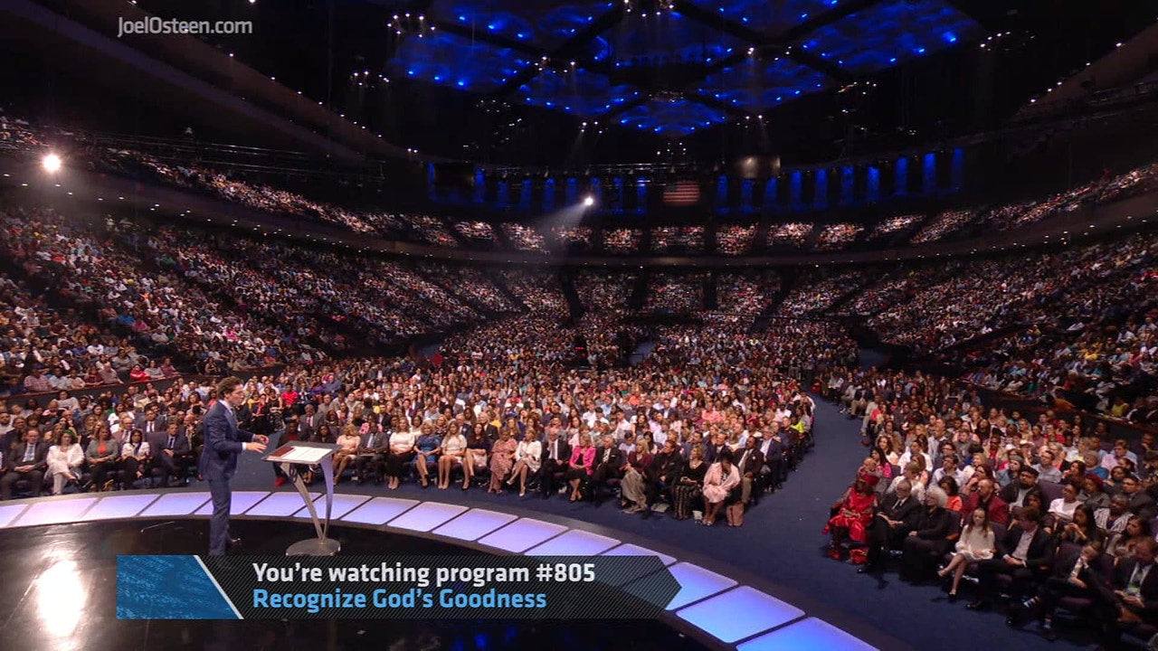 Watch Recognize God's Goodness