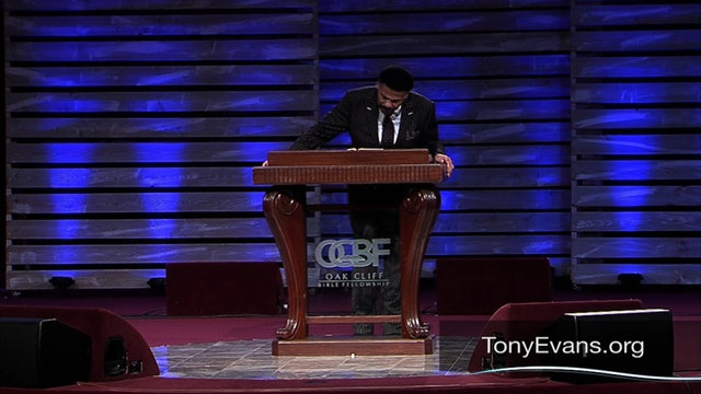 Best of Tony Evans: Reversing Anxiety Consequences