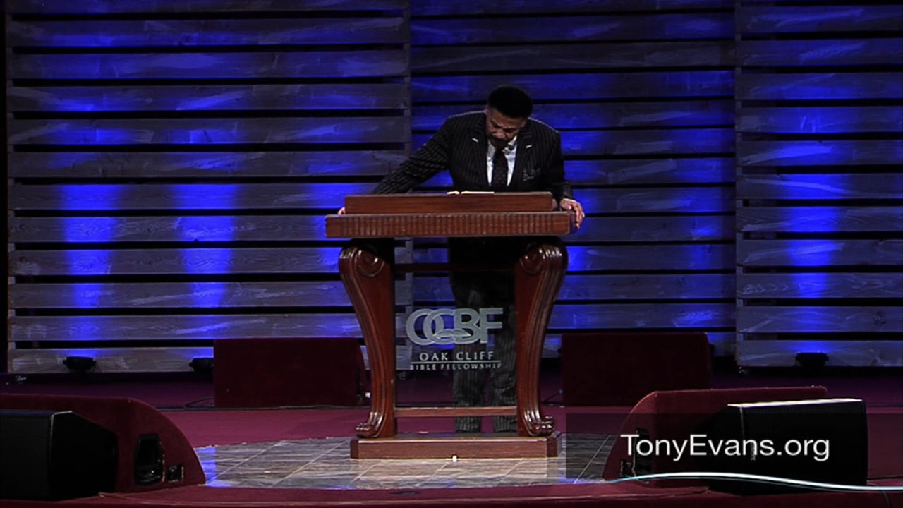 Watch Best of Tony Evans: Reversing Anxiety Consequences